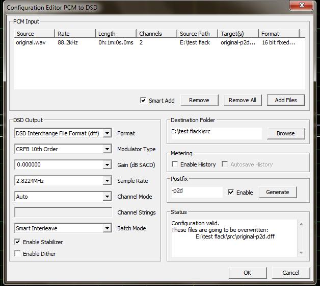 Правильная конвертация DSD->PCM & PCM->DSD [1] - Конференция iXBT com