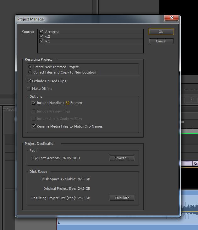 adobe premiere project manager unknown error 39  makesenior