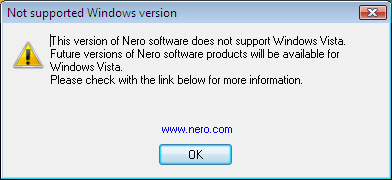 Nero 6.6.1.5 & Vista  - 392x180, 5,6Kb