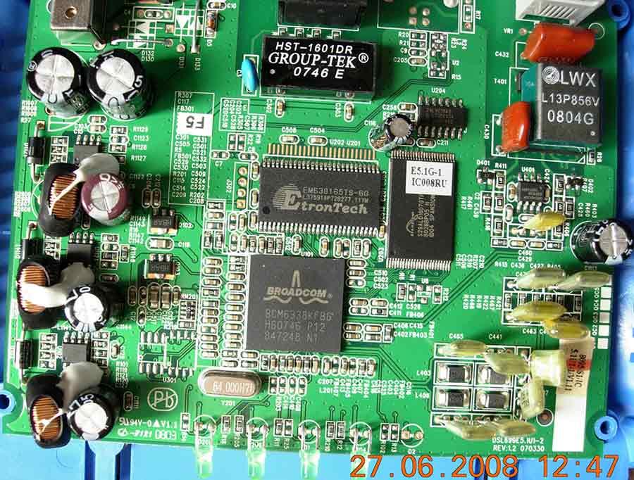 Схема модема интеркросс 5633