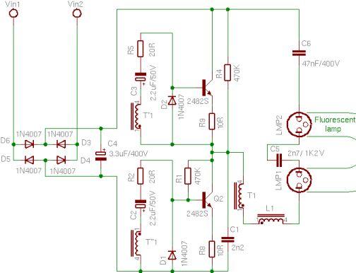 Ремонт энергосберегающих ламп