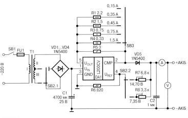 схемы з у для аккумулятора - Схемы.