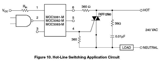 И если сделать так, как. то симистор будет всегда открыт)). не сопротивления резисторов, а выводы симистора...