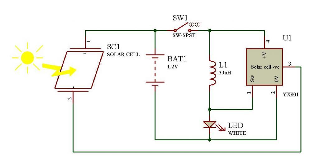 Сделать светильник на солнечных батареях своими руками