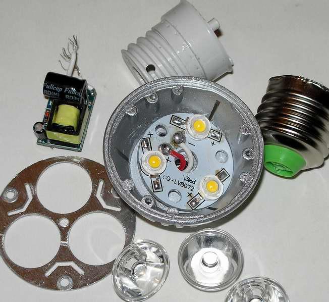 Светодиодный ламп 12 вольт своими руками 112