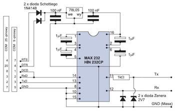 Схема подключения 4х контактного реле.