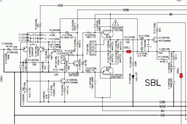 Схема электрическая принципиальная ресивера sony str-232l