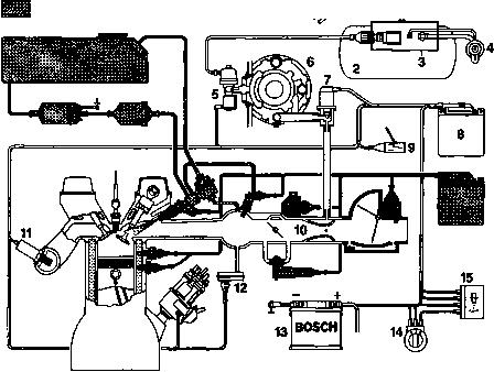 Ваз-2112 схема электробензонасос.